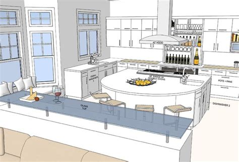 dream kitchen floor plans the 19 best dream kitchen floor plans house plans 7791