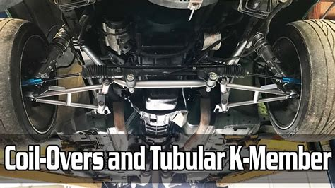 mustang k member install how to install tubular k member on mustang coil overs and