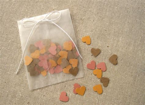 How To Make Paper Packets - paper confetti packets swartley