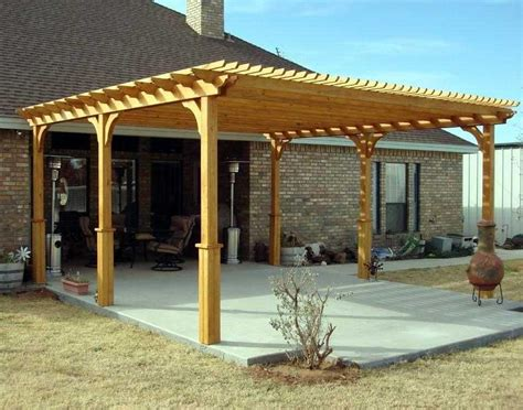 Pergola In Plan by Free Standing Pergola Plans Woodwork