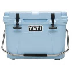 yeti cooler roadie series 20 qt blue yeti roadie
