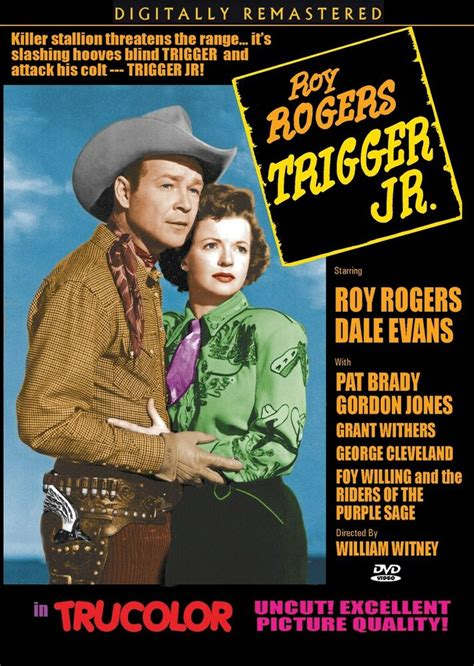 trigger jr roy rogers dale classic western dvd in trucolor ebay