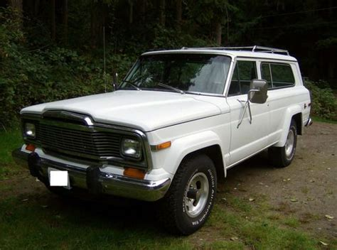 Jeep Chief 1979 Sell Used 1979 Jeep Chief In Clinton Washington