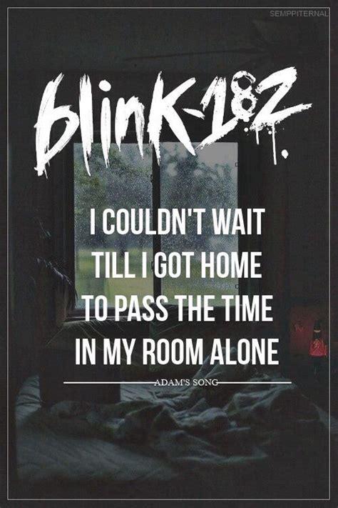 blink 182 adam s song adam s song blink 182 lmfao lyrics blink