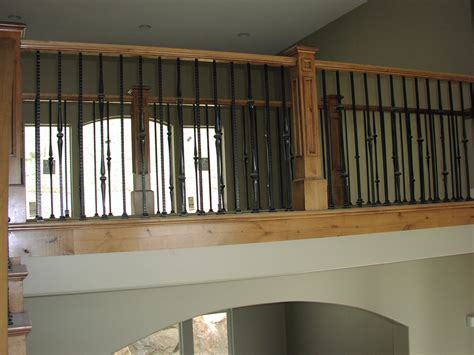 Wood Banister by Utah Stair Buider Apex Carpentry