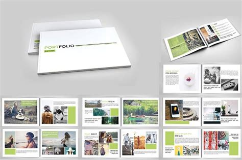 Indesign Portfolio Brochure V127 Brochure Templates Creative Market Free Indesign Portfolio Templates