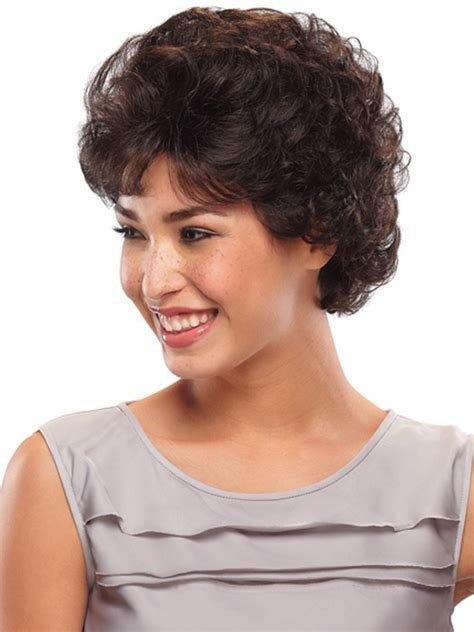 short haircuts with perms for ladies in their 80s 2015 women synthetic hair none lace wigs natural wigs can