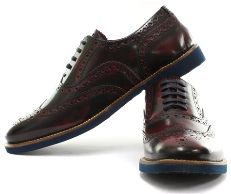 brogues farnham mens leather brogue shoes all sizes