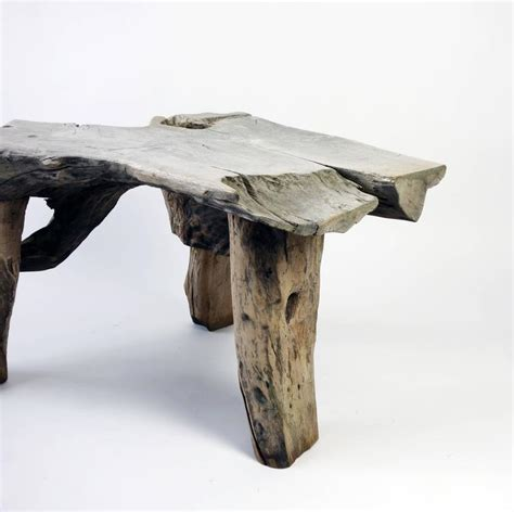 Driftwood Table L Swedish Driftwood Table At 1stdibs