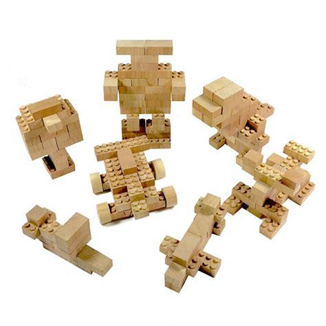 wood lego house eco bricks wooden lego building bricks eco