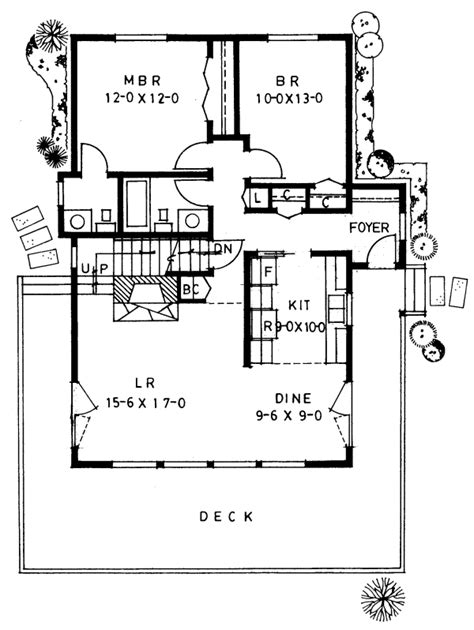 A Frame Floor Plan by An A Frame For Year Living House Plan Hunters
