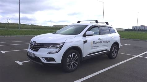 renault koleos 2017 engine 2017 renault koleos start up engine and in depth tour