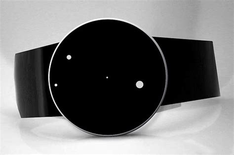 Gamis Black White Dannis No 10 modern watches by denis guidone minimal is beautiful