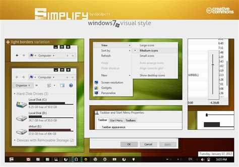excellent themes for windows 8 simplify visual style win seven theme themes for pc
