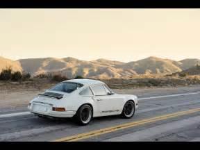 Porsche Singer Wallpaper White Singer Porsche 911 Side Wallpapers White Singer