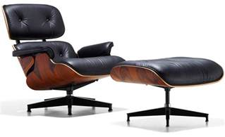 lounge chair with ottoman eames 174 lounge chair ottoman hivemodern