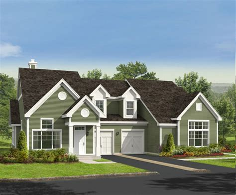 Garage With Living Space vistamor 174 active adult community new homes and
