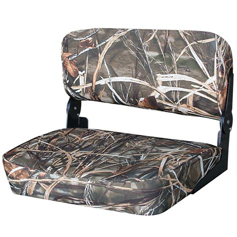 marine folding bench seat wise 174 folding duck boat bench seat mossy oak up