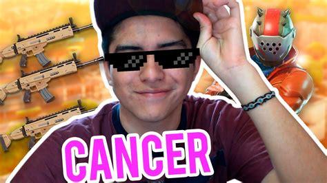 fortnite cancer el cancer de fortnite