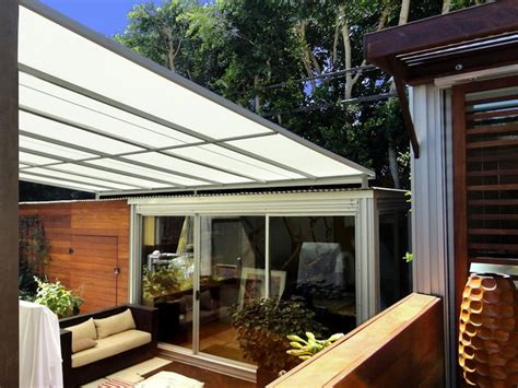 flat panel patio cover contemporary deck los angeles