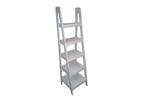 bookcase ladder narrow white se waite and