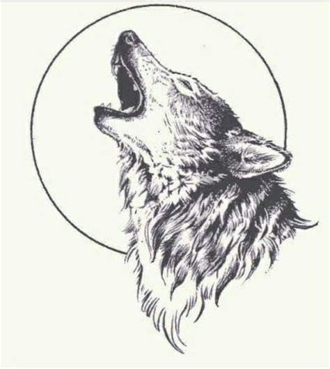 wolf howling tattoo howling wolf design sle