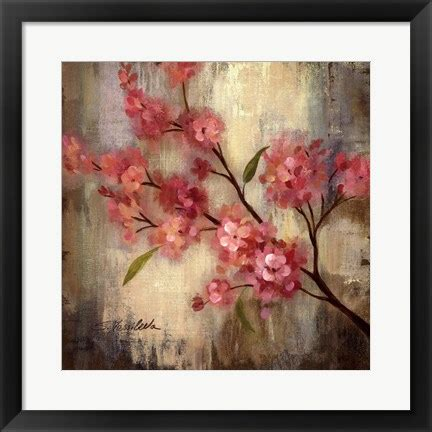 Invicto Ii Cherry White Orange cherry blossom ii artwork by vassileva at framedart