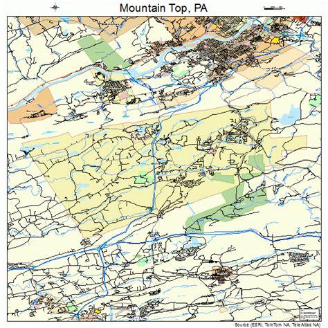 Mountain Top Bar Pa by Mountain Top Pennsylvania Map 4251384