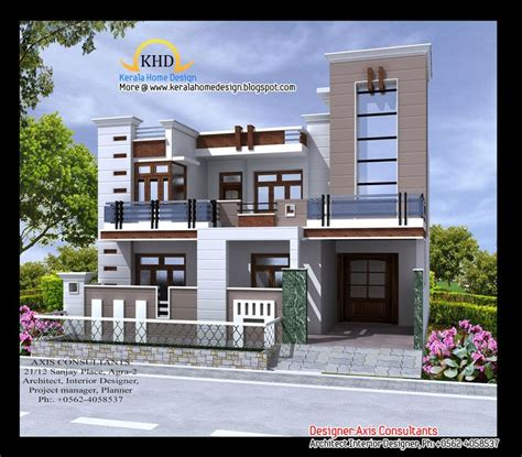 Indian Home Design Catalog | front elevation indian house designs houses pinterest