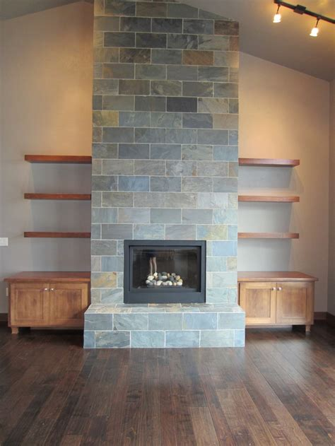 17 best ideas about slate fireplace surround on