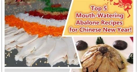 new year abalone top 5 watering abalone recipes for new year