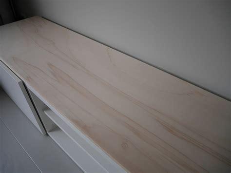 besta diy diy ikea besta tv meubel met houten plank
