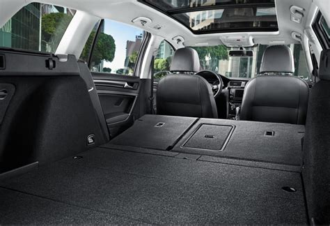 volkswagen wagon interior 2016 volkswagen golf sportwagon review