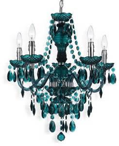 Blue Chandelier Light Blue Green Global Bazaar Bohemian 5 Light Beaded Swag