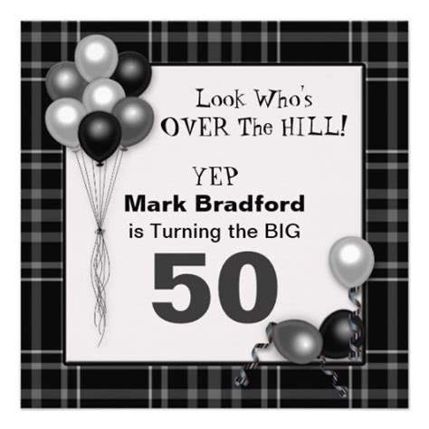 The Hill Birthday Card Template Free by The Hill Birthday Invitation Insert Age Invites