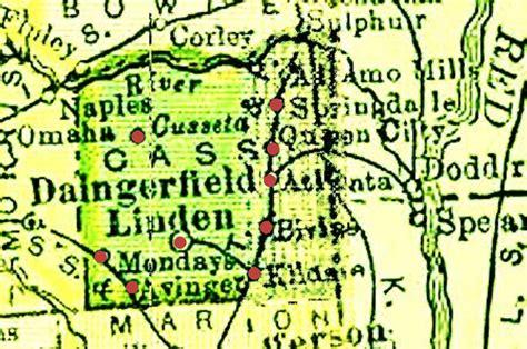 cass county texas map texas sarratt sarrett surratt families of america