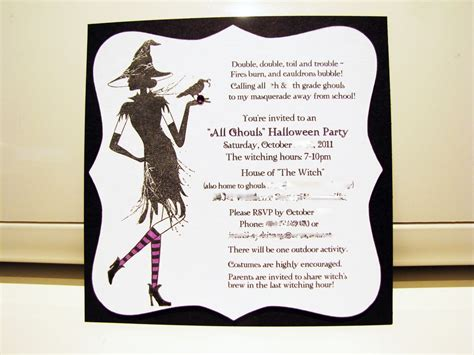 Design Halloween Party Invitation Card | halloween party invitation wording theruntime com