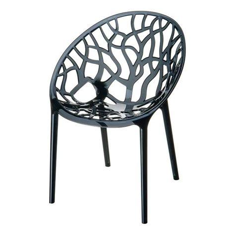 chaise de designer chaise design en polycarbonate 4 pieds