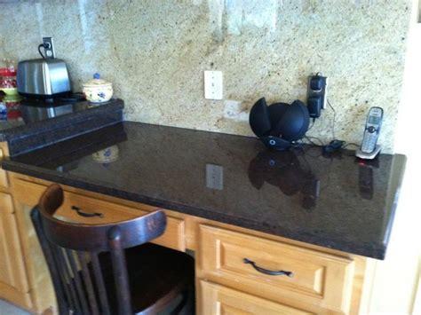 Kitchen Counter Desk by Granite Kitchen Desk Decorchick