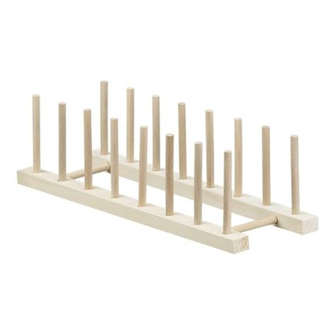 Stacked Plate Rack by Tablet Charging Station 15 Quot Wooden Plate Rack In Utility