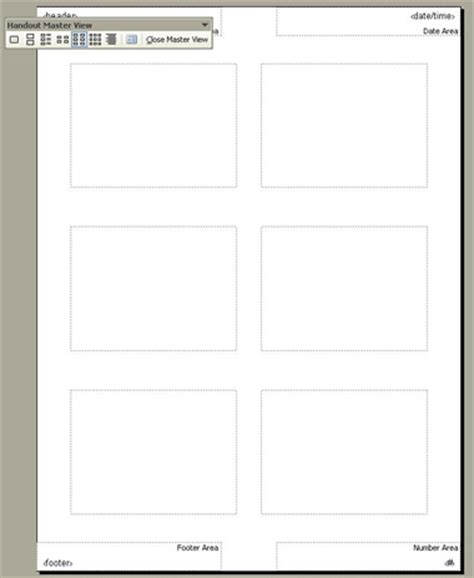 Using Notes And Handout Masters Powerpoint 2003 Powerpoint Handout Template