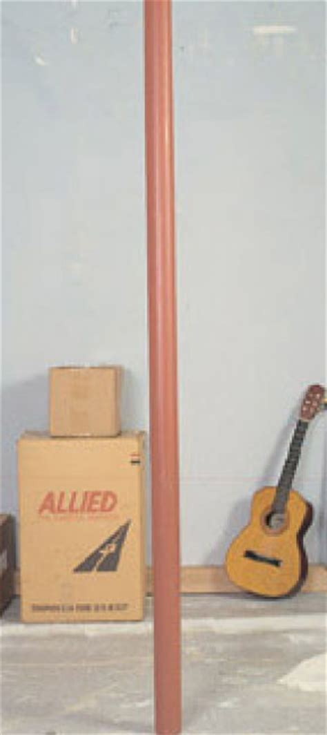 wood lally basement pole covers