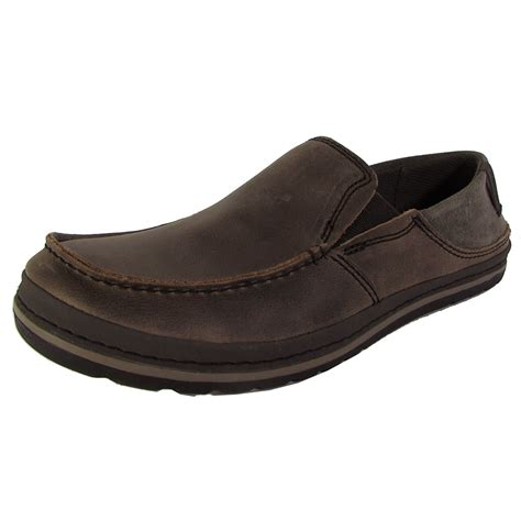 loafer slip on shoes teva mens clifton creek slip on loafer shoes ebay