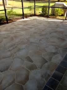 Concrete Patio Paint by Concrete Designs Florida Concrete Painting