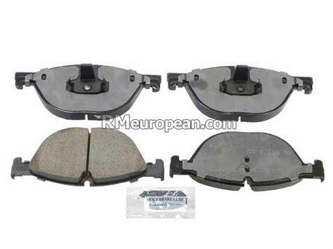 bmw akebono brake pad set 34116851269