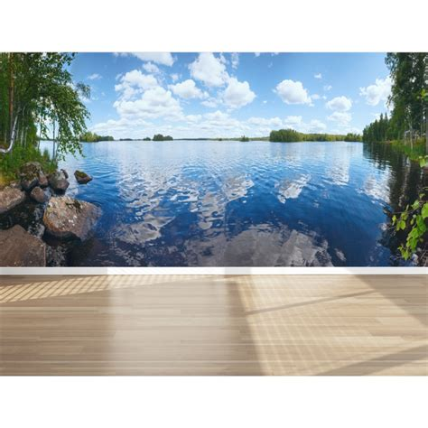 peel and stick wall mural wall mural beautiful lake view peel and stick