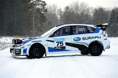 subaru sti rally car 2013 subaru rally team usa wrx sti rally car