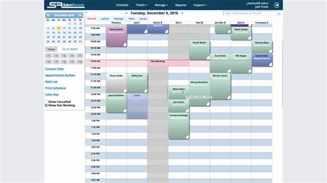 Appointment Scheduling Rosy Salon Software Youtube Rosy Salon Software Templates