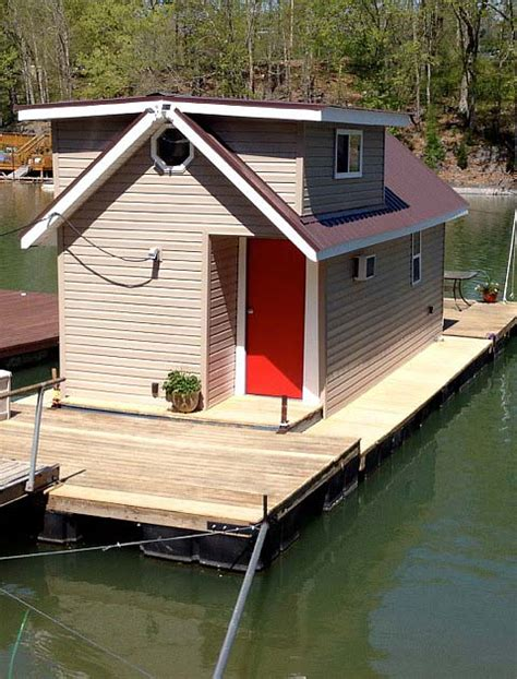 tiny floating home renovation   tiny house