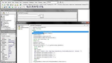 tutorial delphi firebird delphi importar txt delimitado vd14 doovi